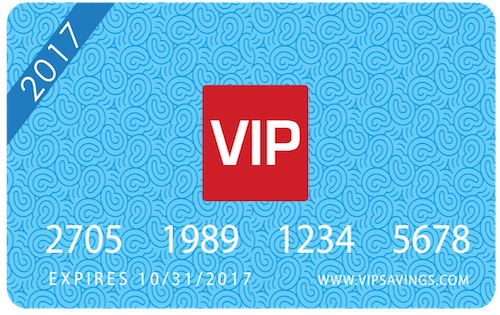 2015 VIP Card Front