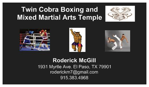 Twin Cobra Boxing & Mixed Martial Arts Temple